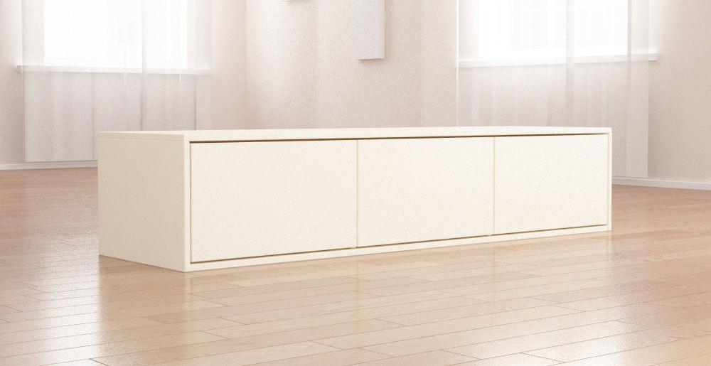 lowboard creme hochglanz. Black Bedroom Furniture Sets. Home Design Ideas