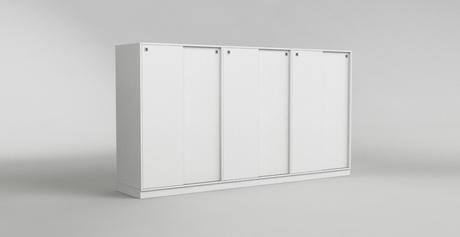 sideboard 6 schuifdeuren op maat. Black Bedroom Furniture Sets. Home Design Ideas