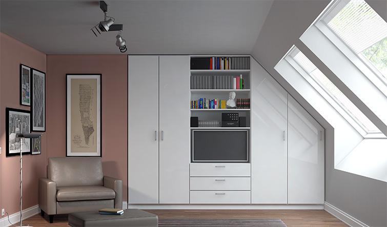 kast op maat ontwerp je zelf online. Black Bedroom Furniture Sets. Home Design Ideas